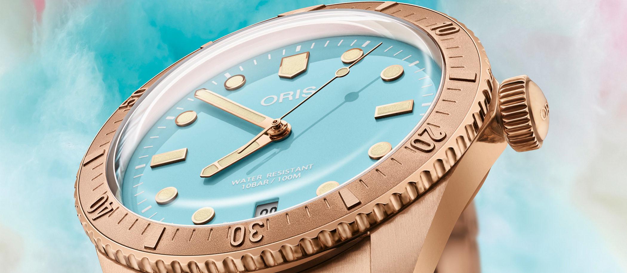 "Oris Divers Sixty-Five ""Cotton Candy"""