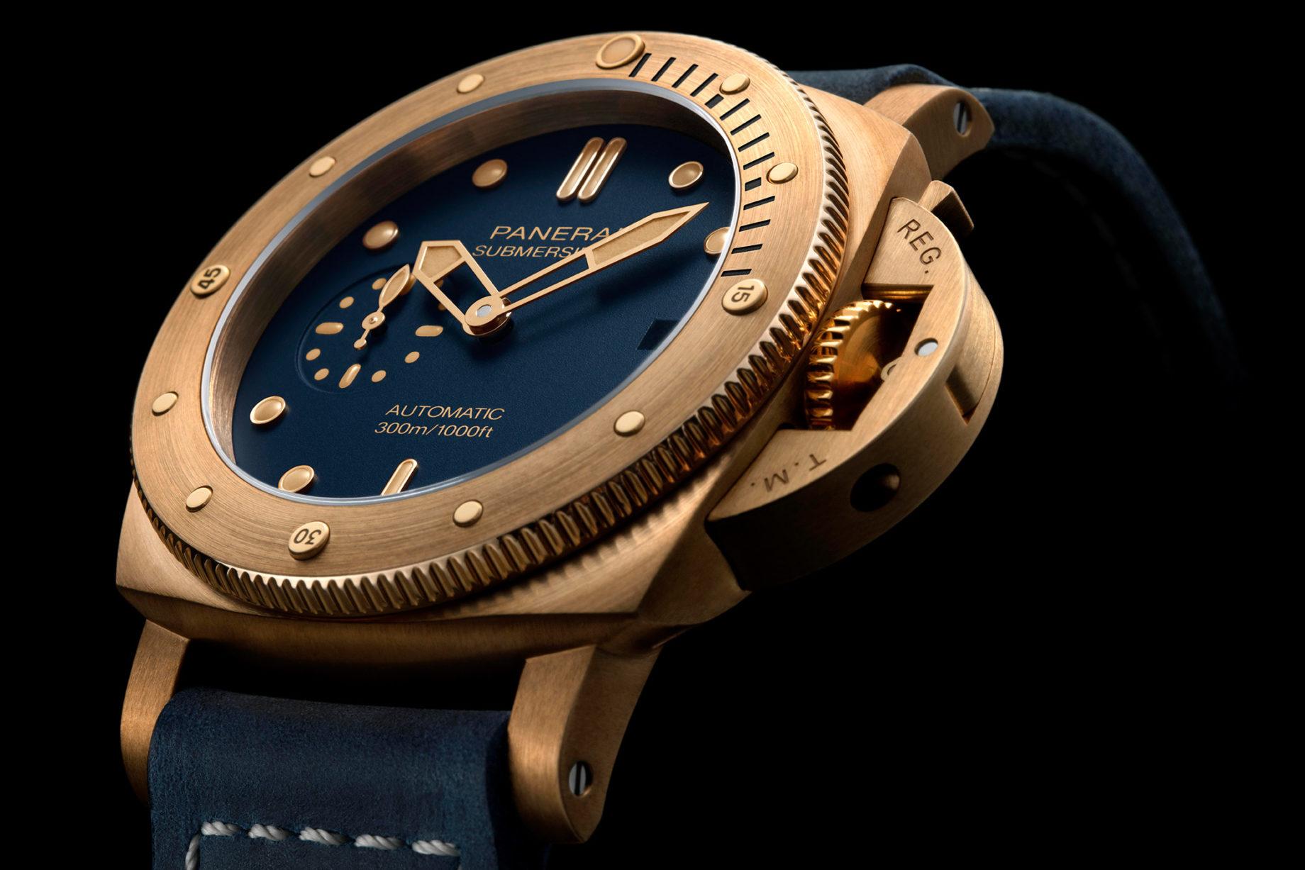Panerai Submersible Bronzo Blu Abisso PAM01074