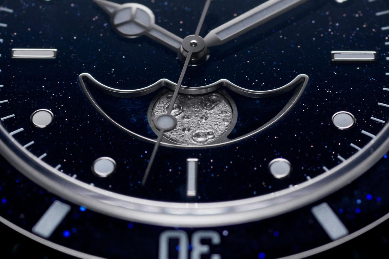 Artisans de Geneve (Rolex) Submariner Moon Phase
