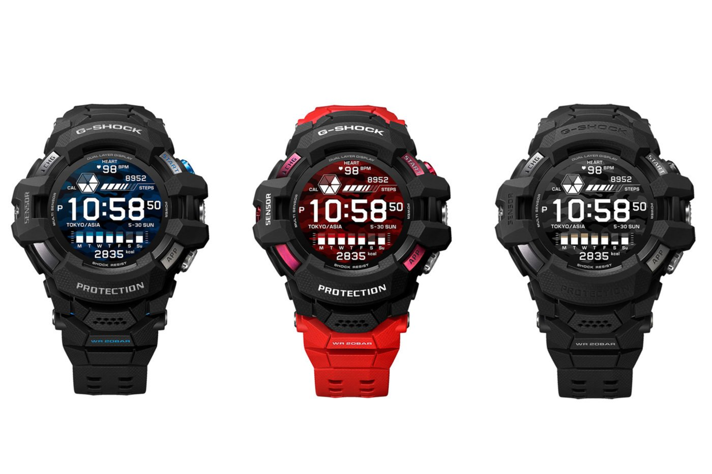 Casio G-Shock GSW-H1000 – ekstremalny Smartwatch z Google WearOS