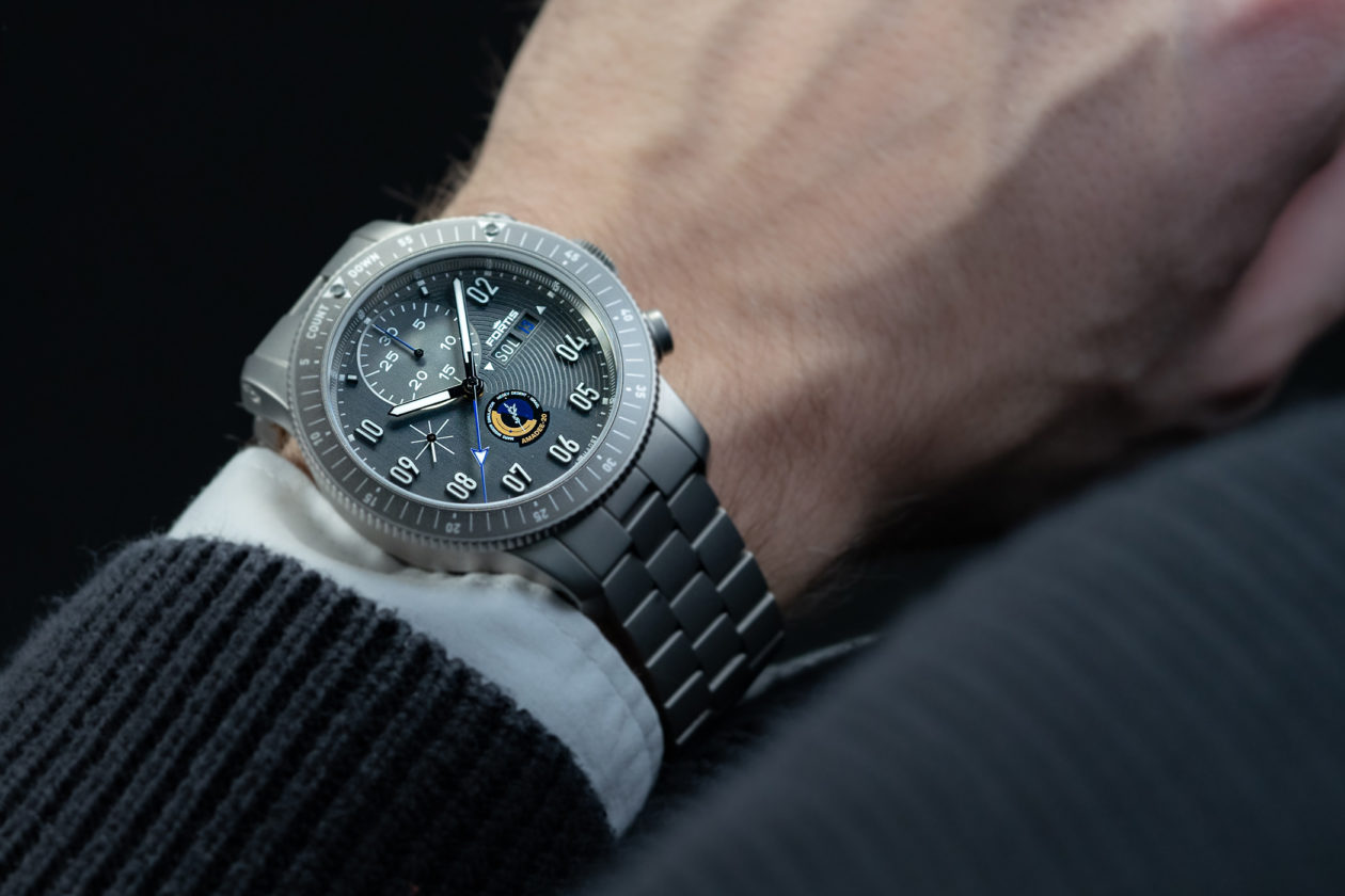 Fortis Official Cosmonaut Chronograph AMADEE-20