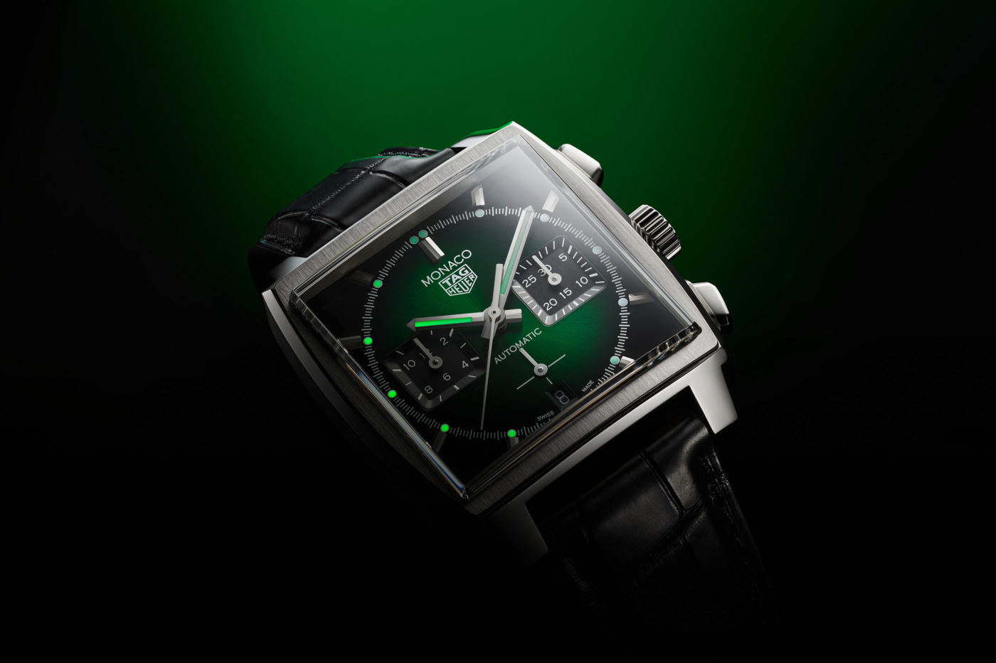 TAG Heuer Monaco Green Dial Calibre Heuer 02 [dostępność, cena]