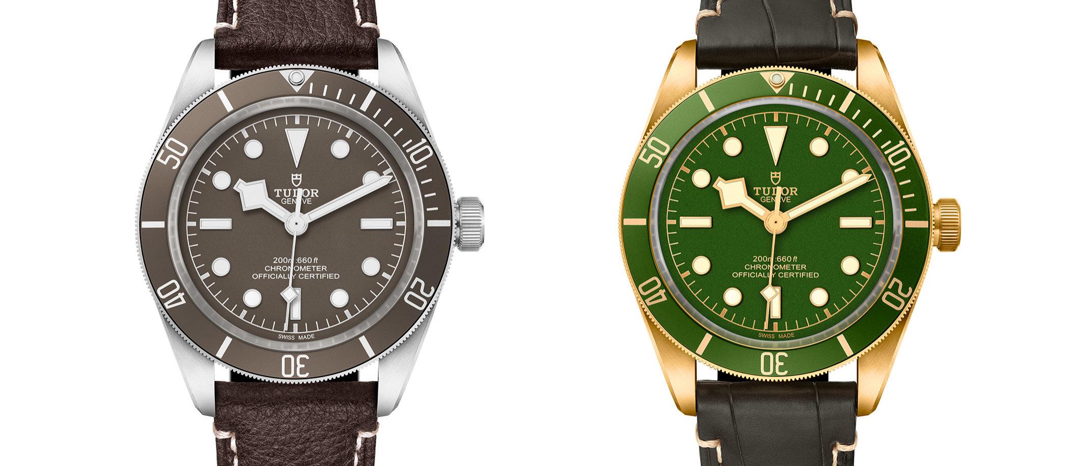 Tudor Black Bay Fifty-Eight 18K (po prawej)) i 925