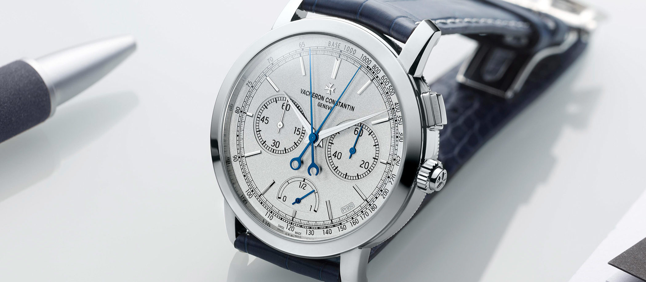 Vacheron Constantin Traditionnelle Split-Seconds Chronograph Ultra-Thin Collection Excellence Platine