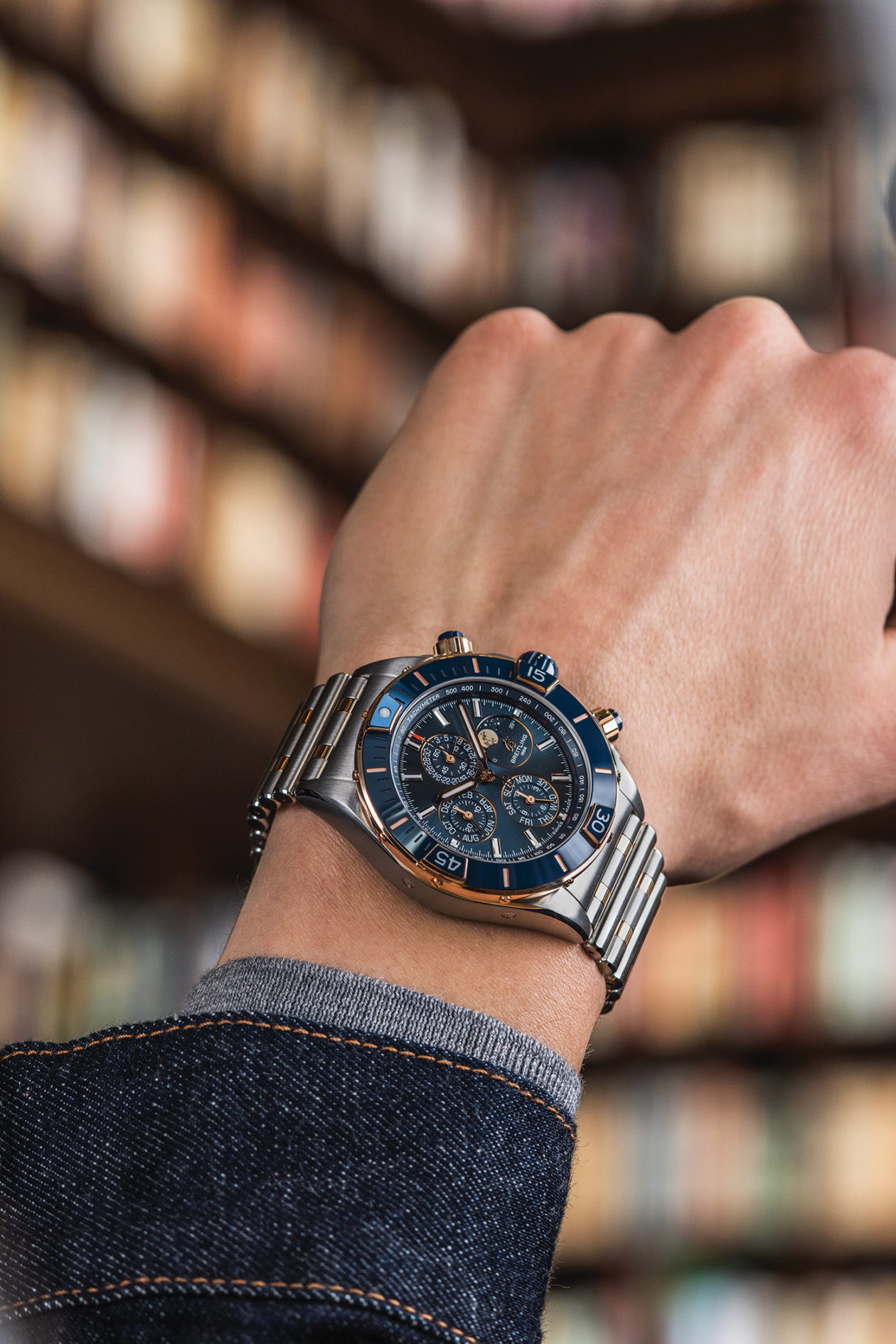 Breitling Super Chronomat 4 Years Calendar