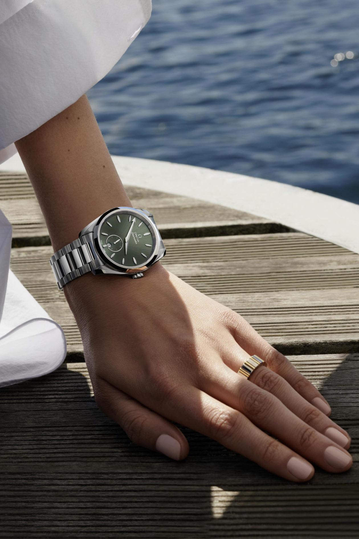 Omega Seamaster Aqua Terra Small Seconds 38 mm