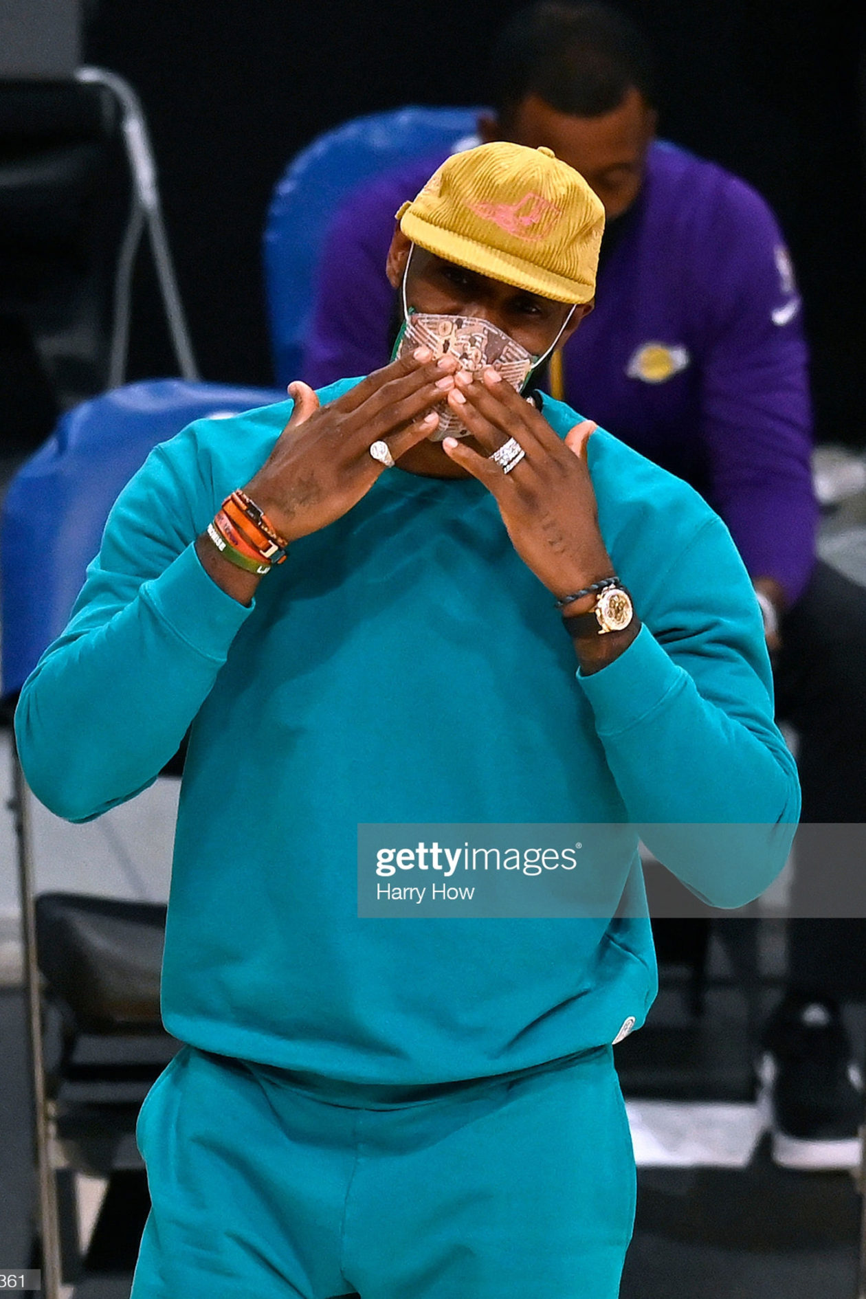 LeBron James & Rolex / Foto: Harry How, Getty Images