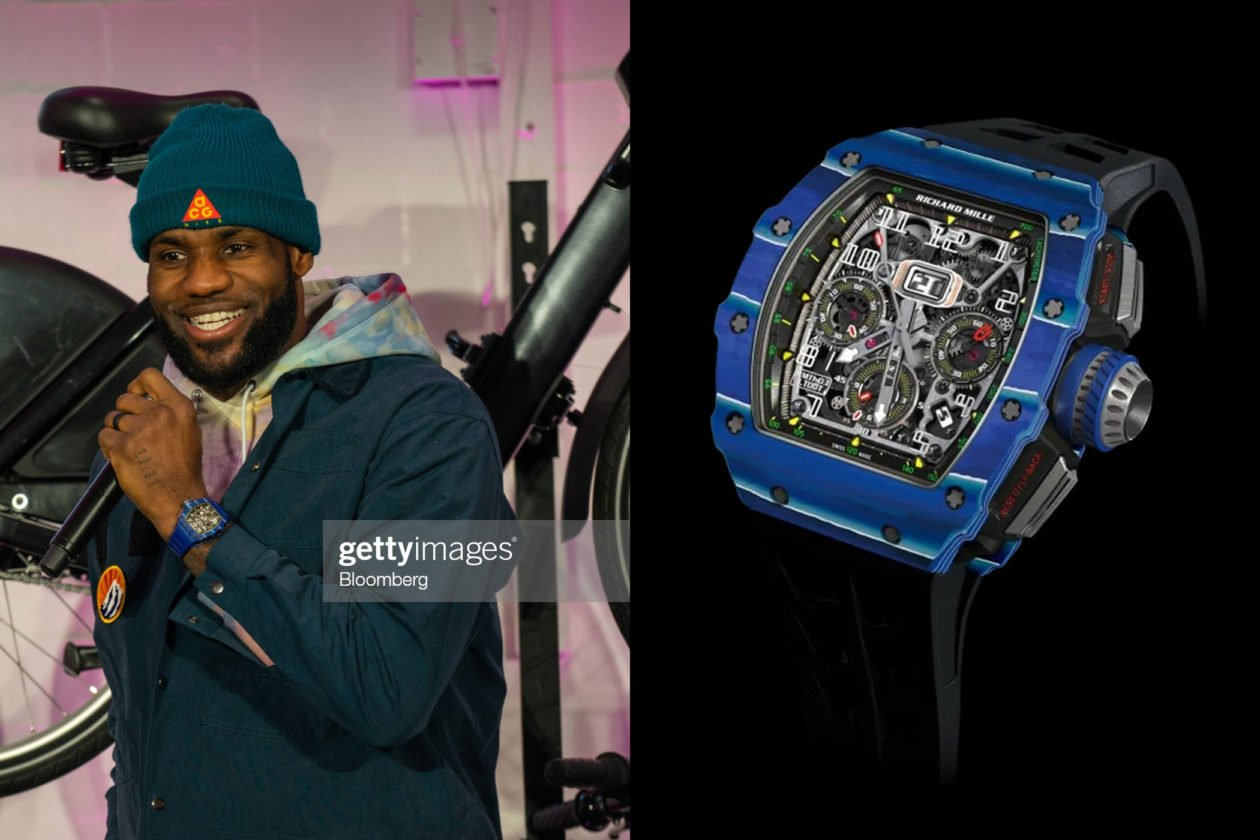 LeBron James & Richard Mille / Foto: Bloomberg, Getty Images