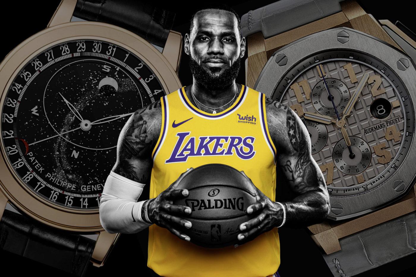 Timebloid Zegarki gwiazd NBA – LeBron James