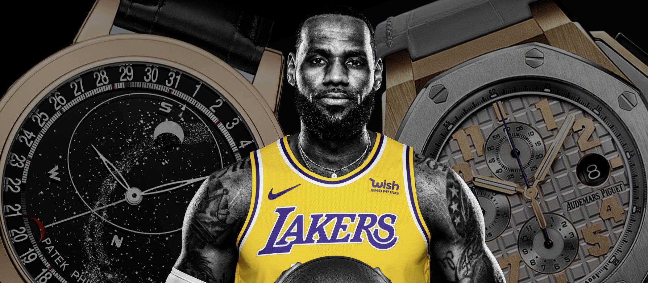 Zegarki gwiazd NBA - LeBron James / foto: nba.com
