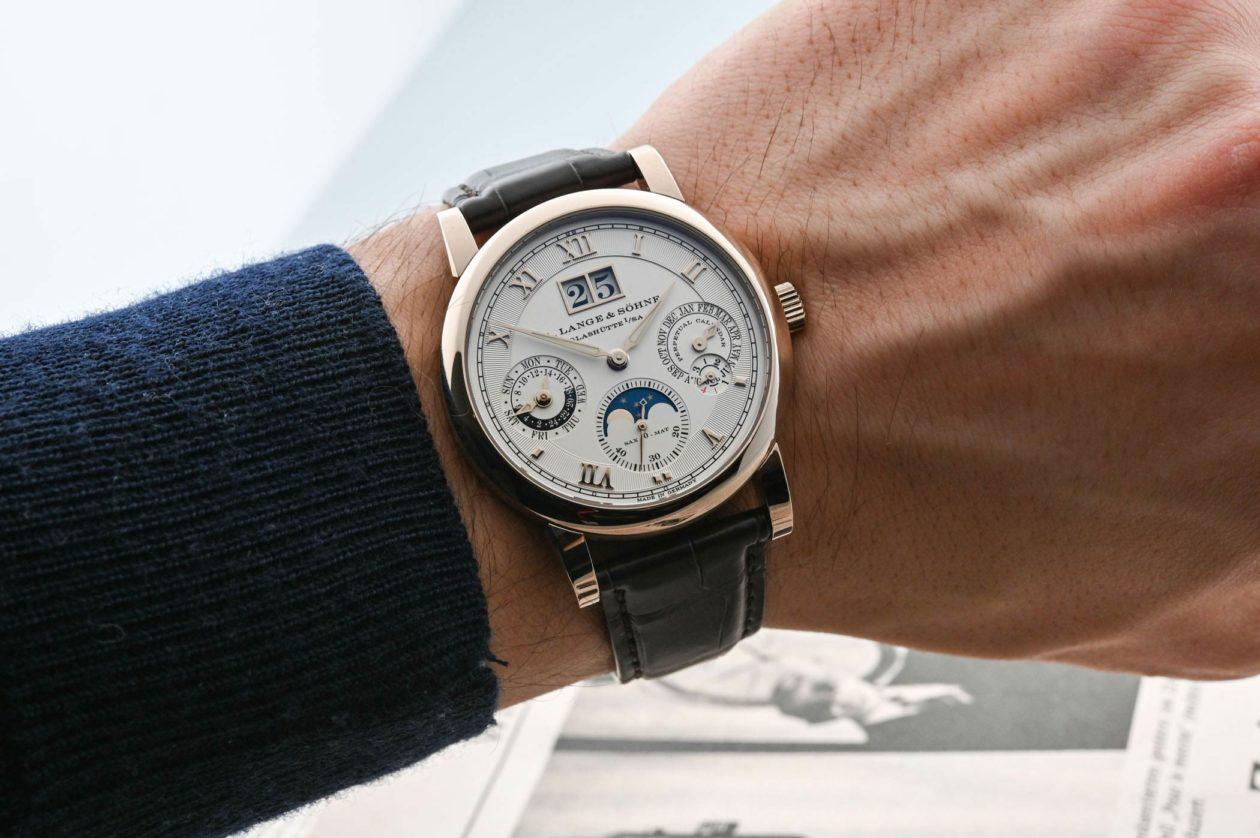 A. Lange & Söhne Langematik Perpetual Honeygold / foto: Monochrome-watches
