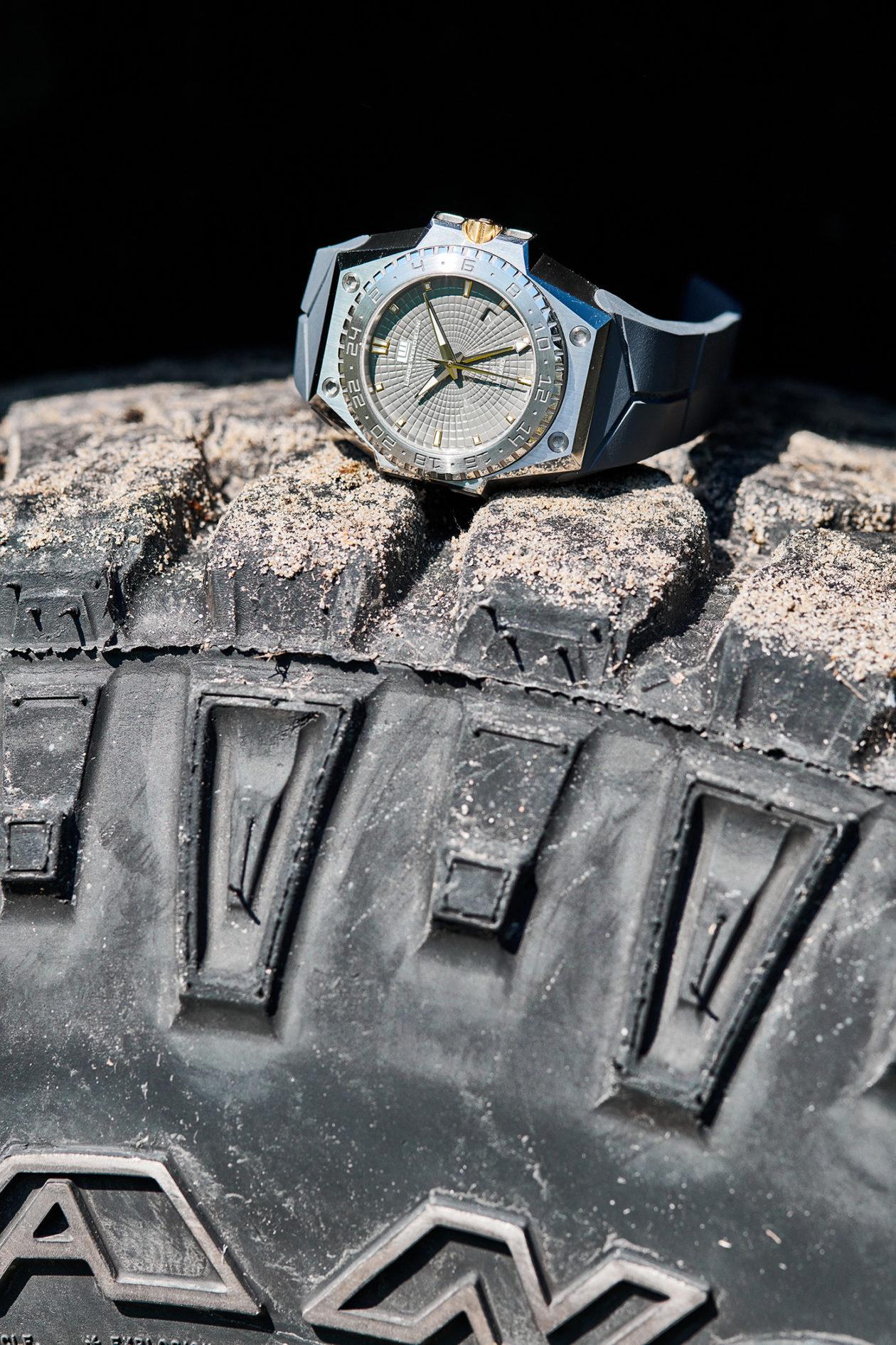 Linde Werdelin 3 Timer Rock Gold
