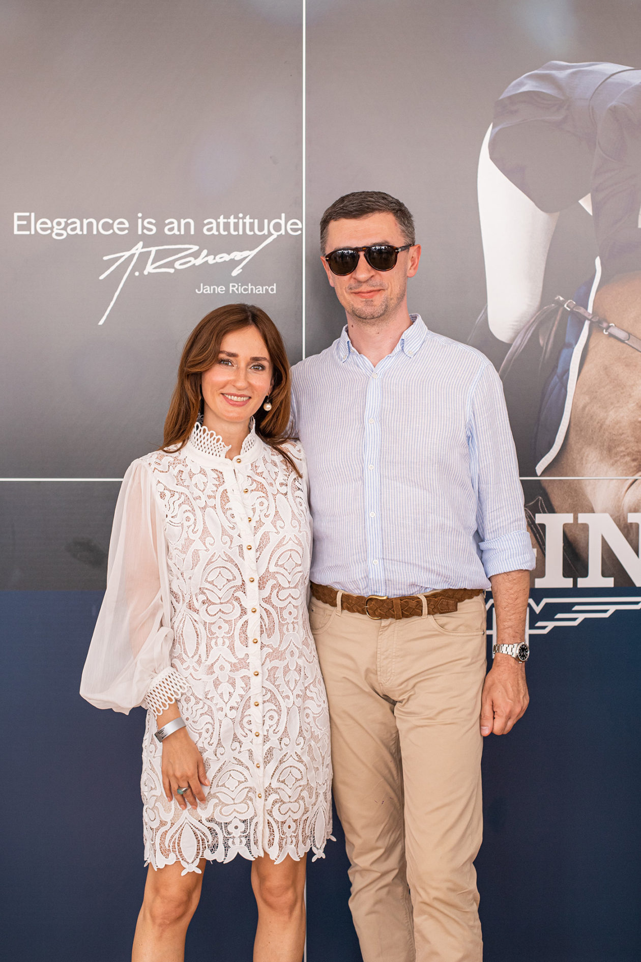 Katarzyna Sosińska (PR Manager Longines) i Tomasz Kiełtyka