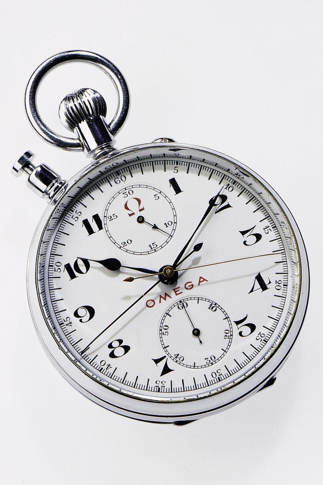 Omega Chronograph Rattrapante