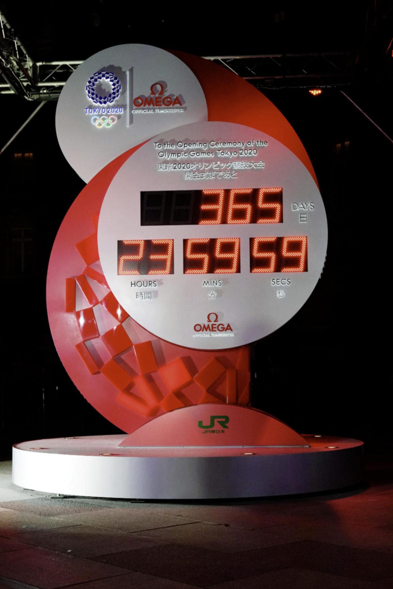 Zegar odmierzający czas do IO