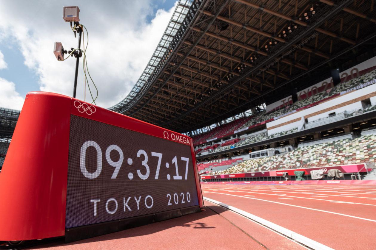 Omega na IO w Tokio
