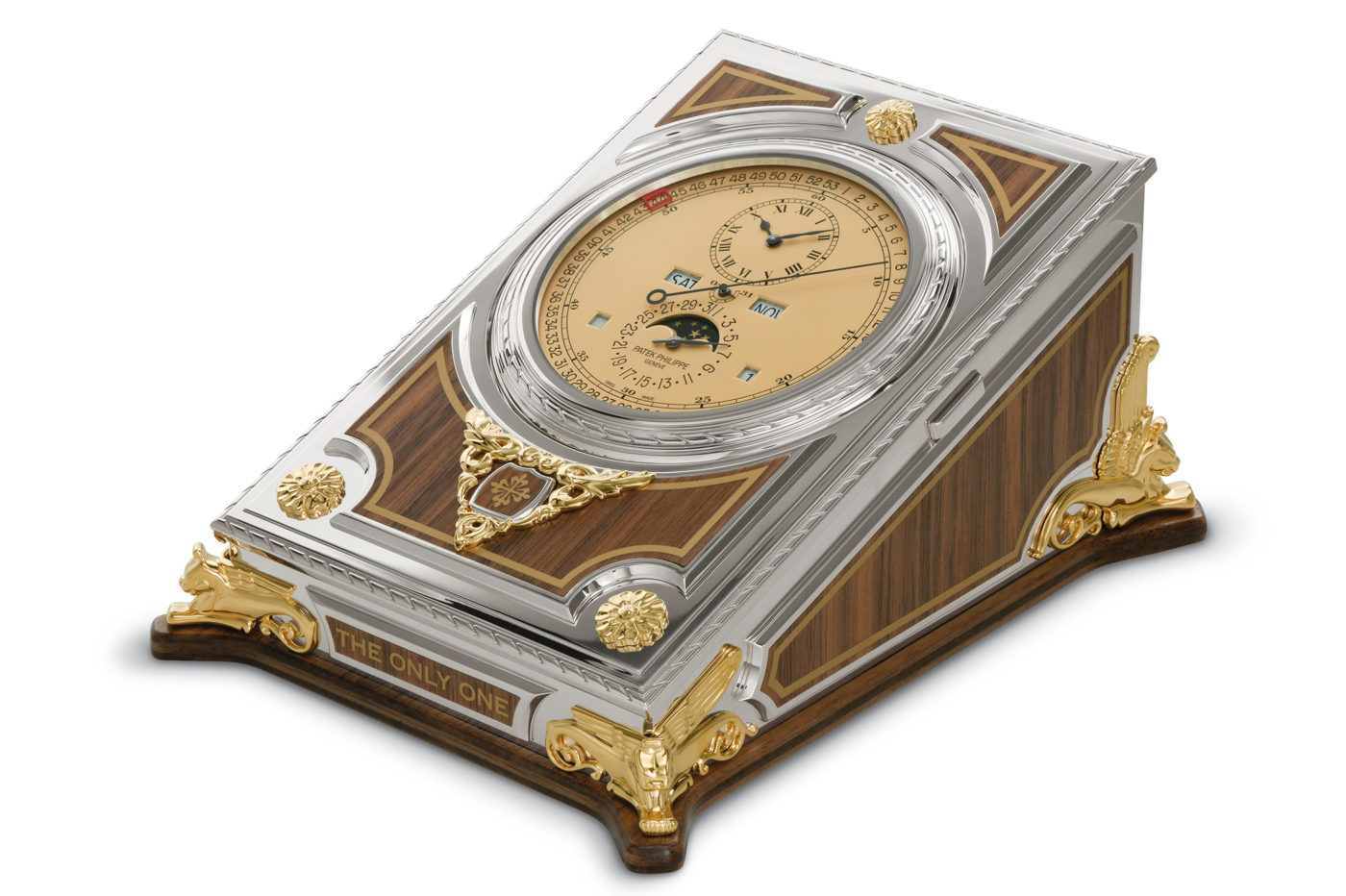 Patek Philippe Complicated Desk Clock Ref. 27001M-001 – Only Watch 2021