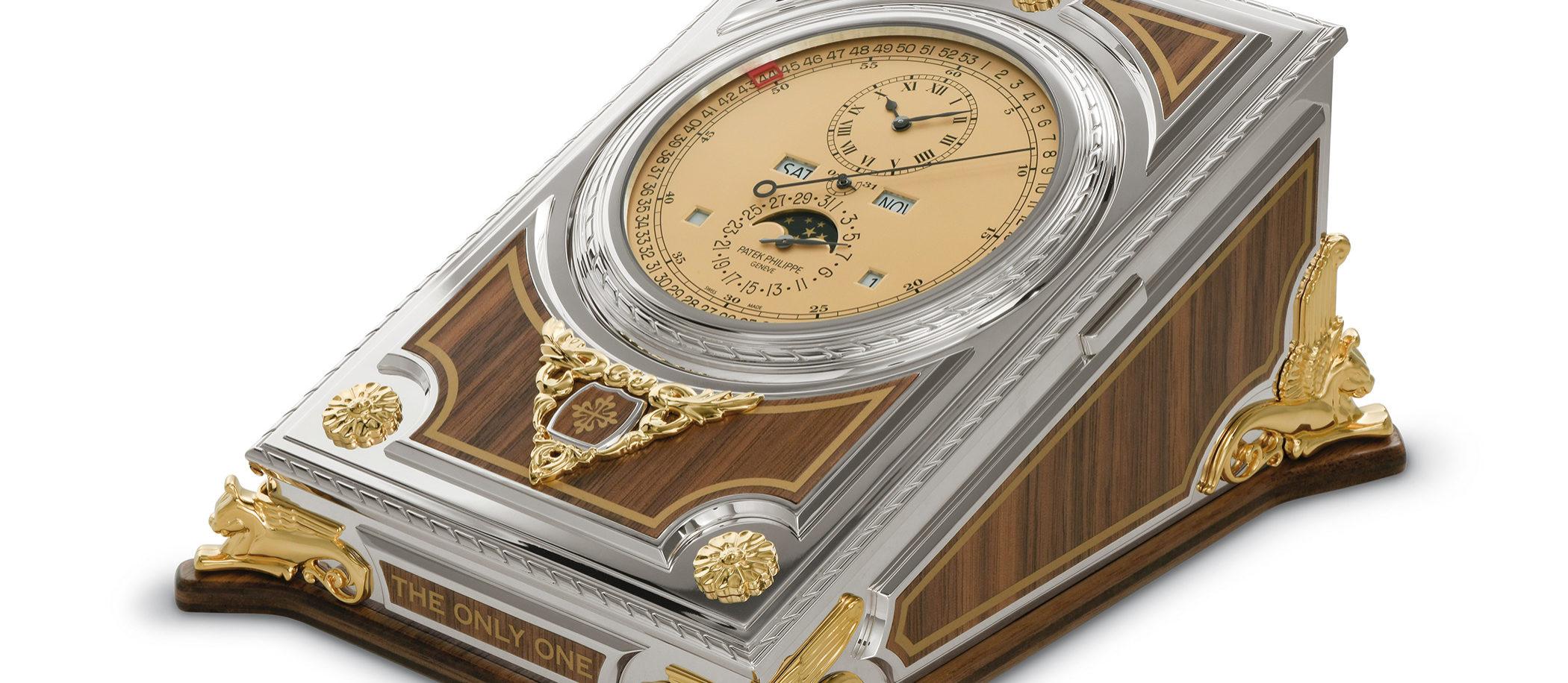Patek Philippe Complicated Desk Clock Ref. 27001M-001