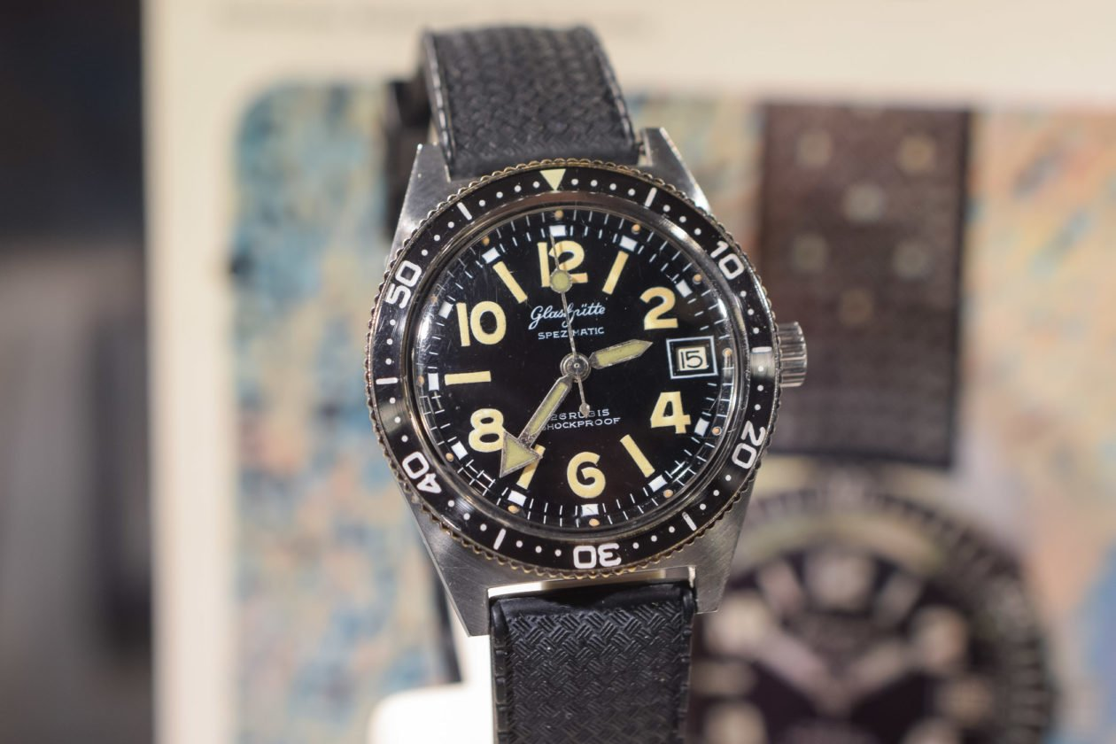Glashütte Original Spezimatic RP TS 200 / foto: Monochrome-watches.com