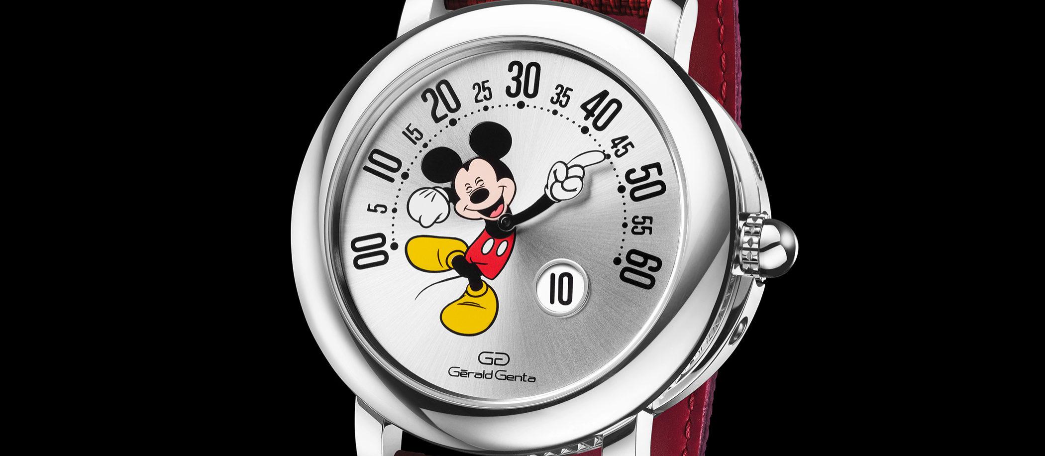 Gerald Genta Arena Retro Mickey Mouse Disney