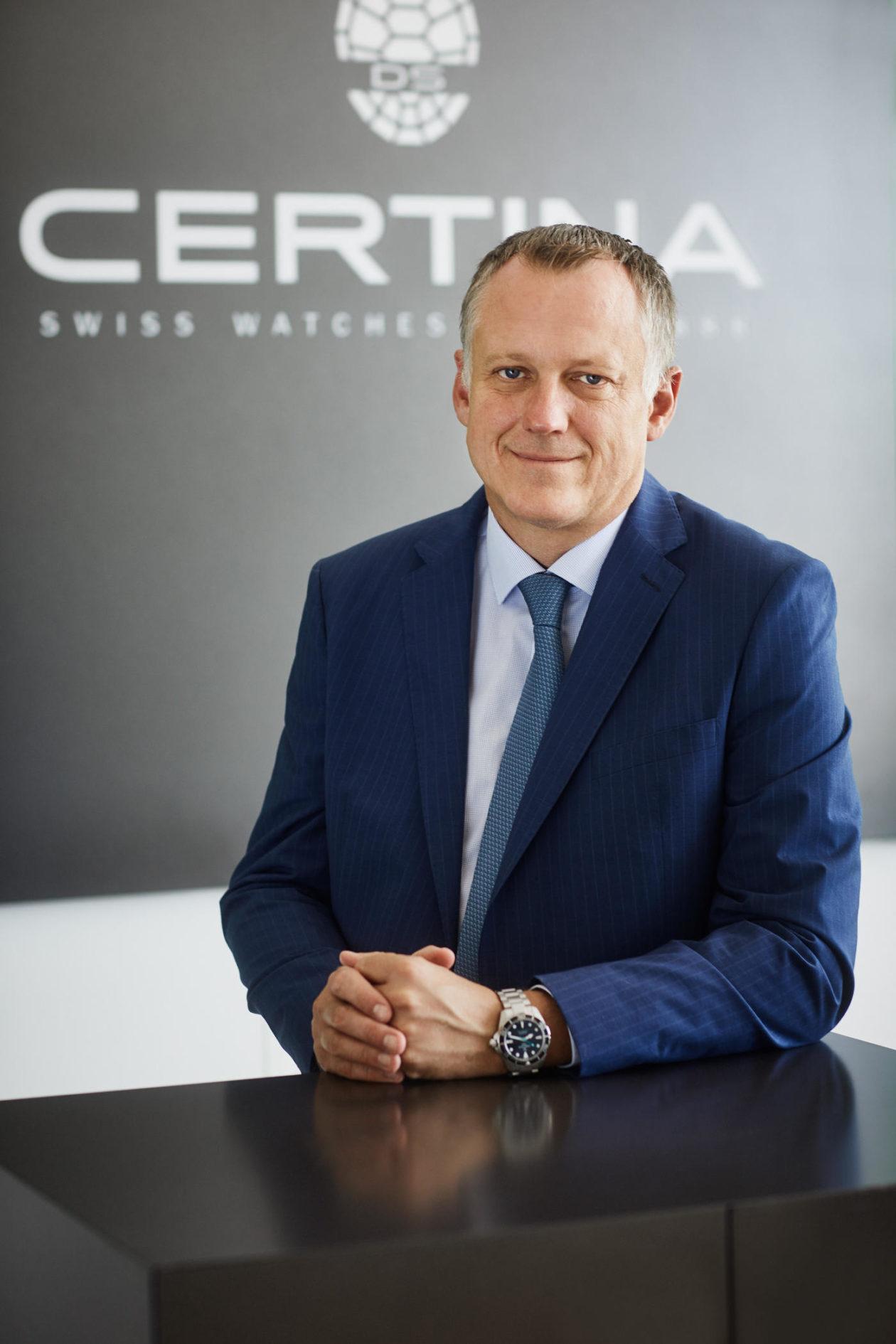 Marc Aellen (CEO Certina)