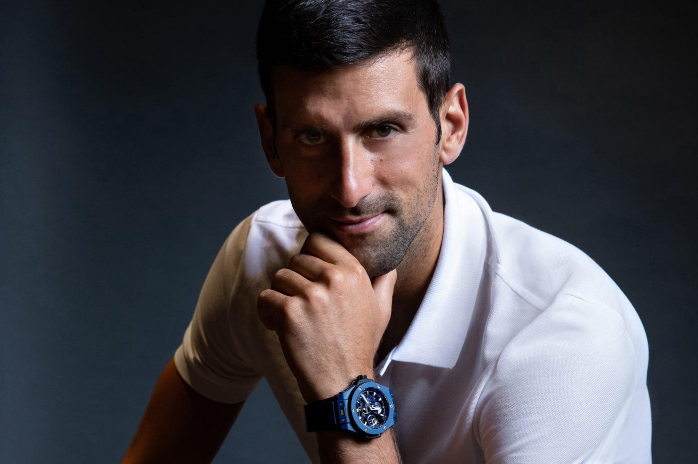 Novak Djokovic ambasadorem marki Hublot