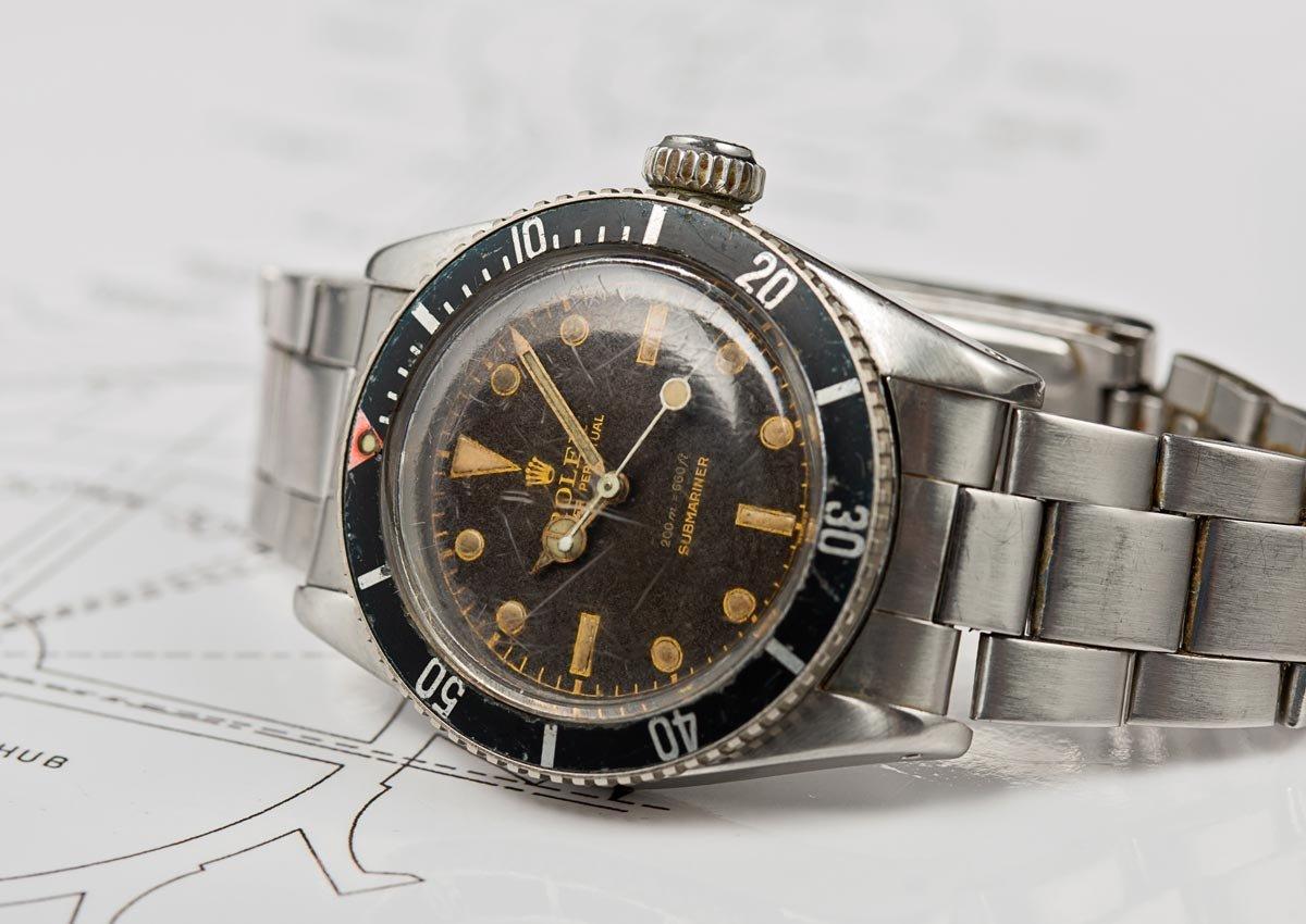 Rolex Submariner Ref. 6538 / foto: Monochrome-watches.com