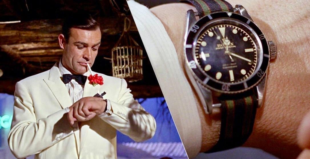 Sean Connery i Rolex Submariner Ref. 6538
