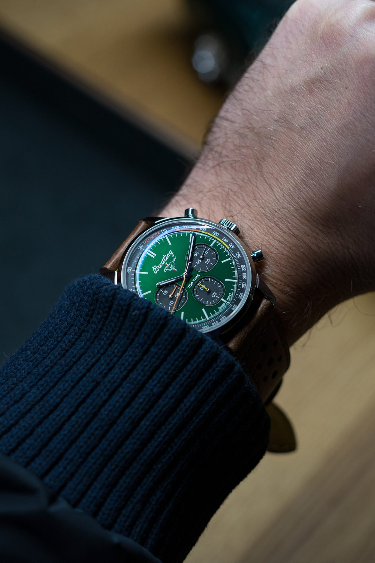 Breitling Top Time Ford Mustang