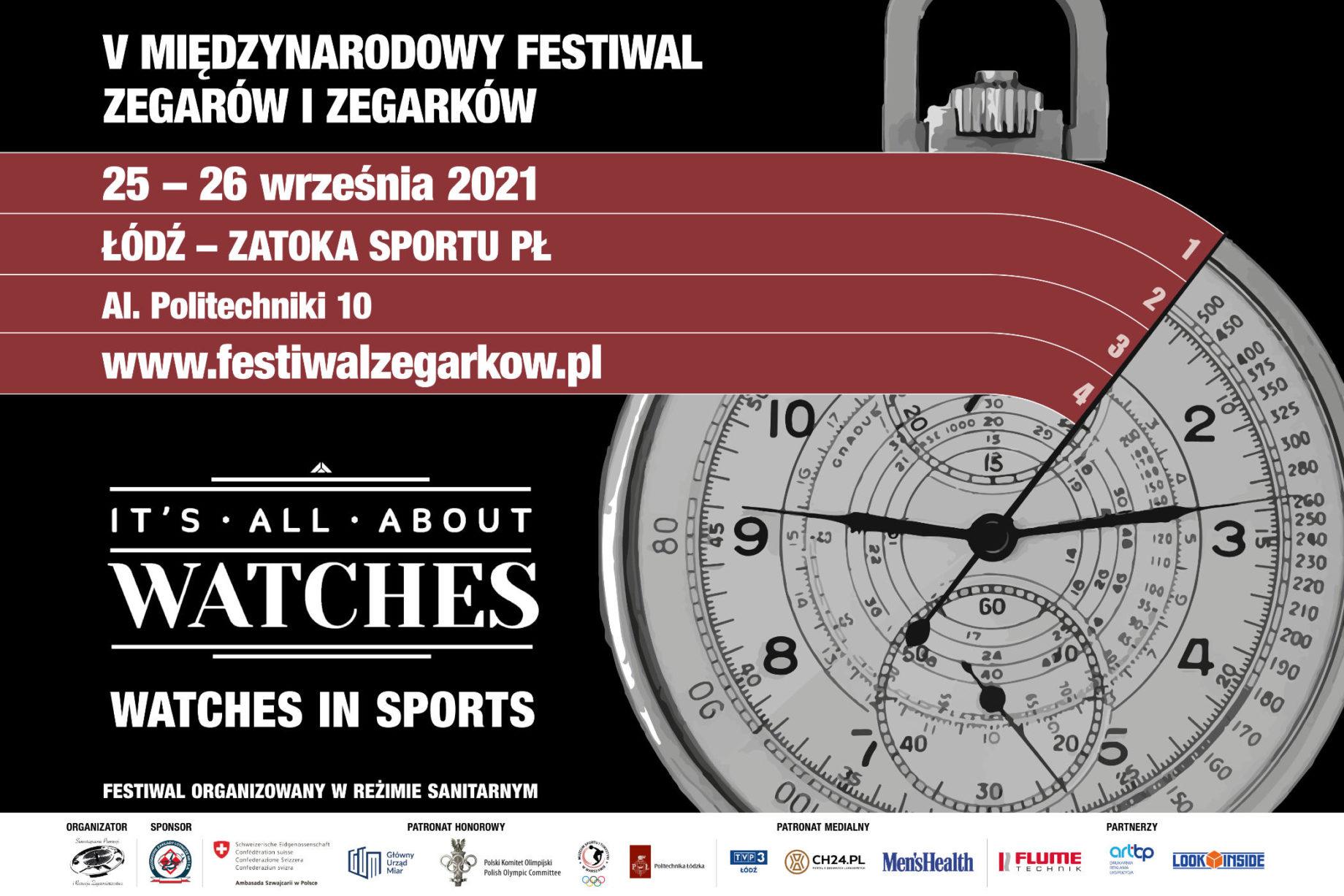 """Festiwal Zegarów i Zegarków """"It's All About Watches"""""""