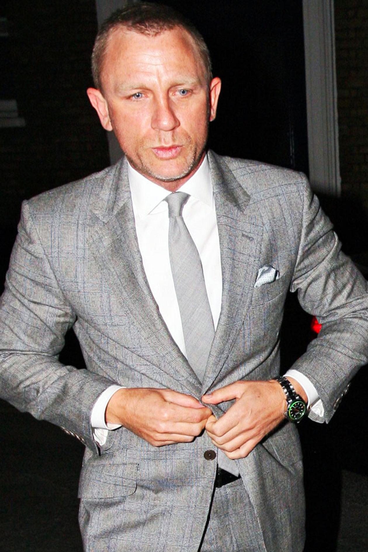 Daniel Craig i jego Rolex Milgauss / foto: rolexmagazine.com