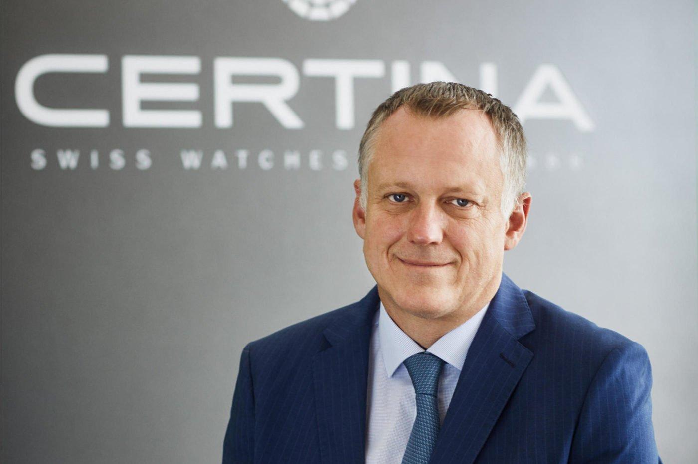 Wywiad Marc Aellen (CEO Certina)