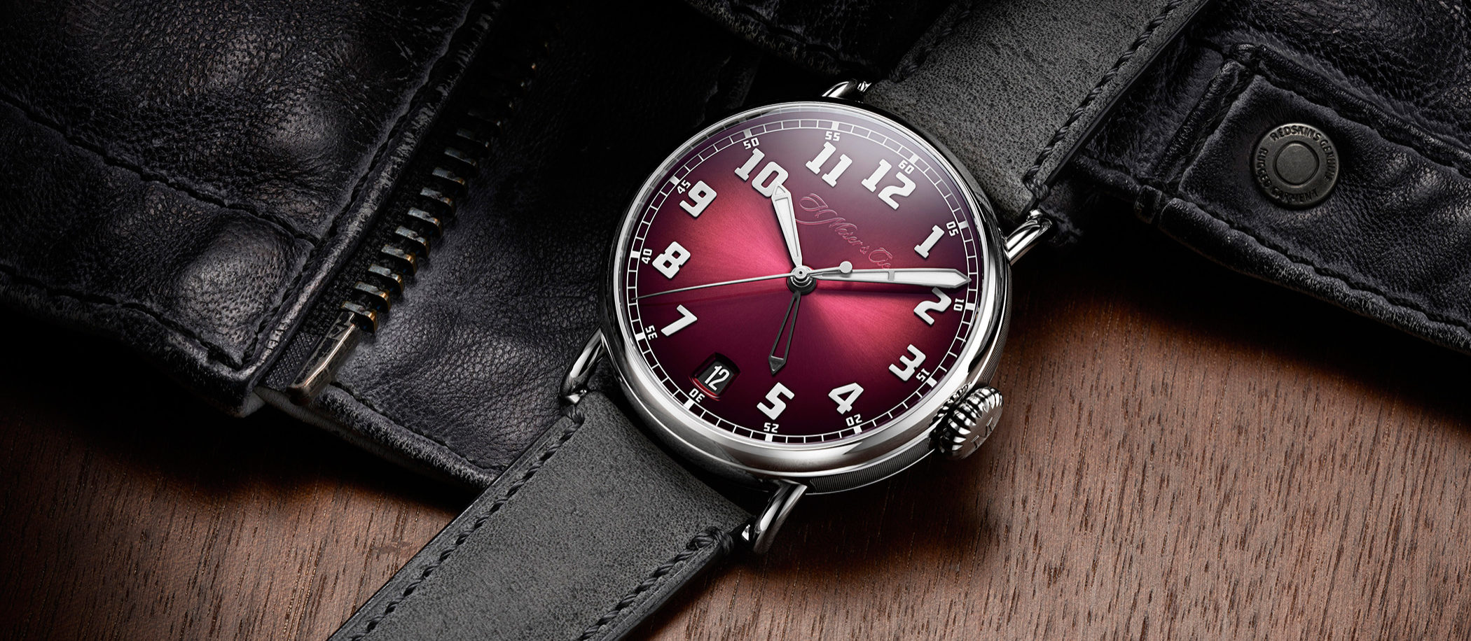 H. Moser Heritage Dual Time
