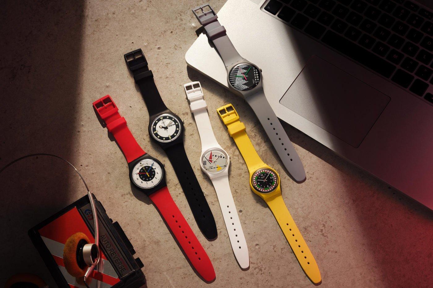 Swatch 1984 Reloaded w Bioceramice [dostępność, cena]