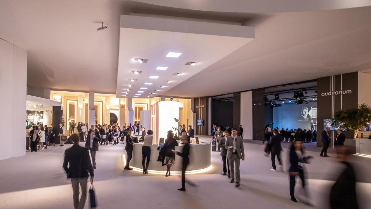 wizualizacja Watches & Wonders Geneva 2022